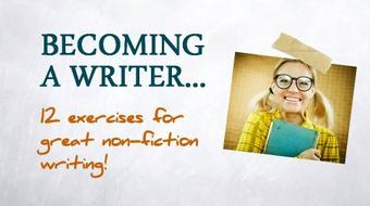 Becoming A Writer course image