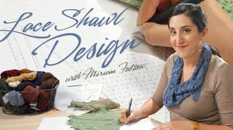 Lace Shawl Design course image