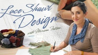 Lace Shawl Design course image