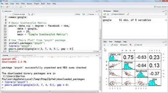 Up and Running with R course image