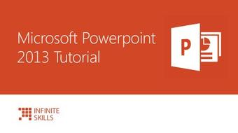 Microsoft Powerpoint 2013 Tutorial course image