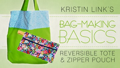 Bag-Making Basics: Reversible Tote & Zipper Pouch course image