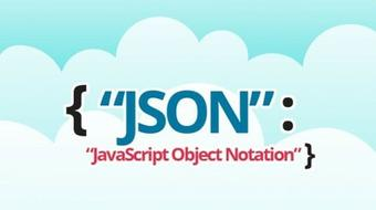 Introduction to JavaScript Object Notation (JSON) course image