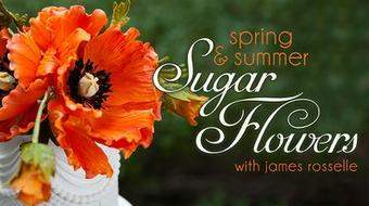 Spring & Summer Sugar Flowers course image