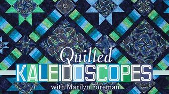 Quilted Kaleidoscopes course image