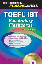 TOEFL iBT Vocabulary Flashcard Book w/ Audio CD course image