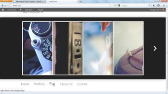 Start with a Theme: Photography Portfolios in WordPress course image