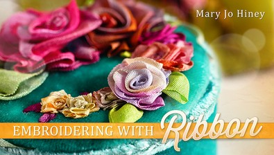 Embroidering With Ribbon course image
