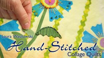 Hand-Stitched Collage Quilts course image