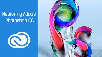 Mastering Adobe Photoshop CC course image