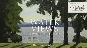 Water Views: Acrylic Landscapes course image