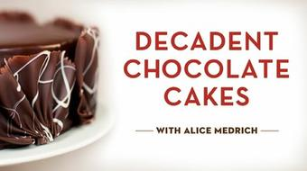 Decadent Chocolate Cakes course image