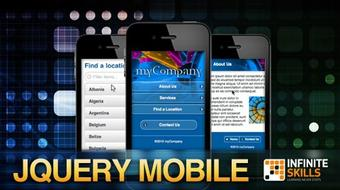 Learning JQuery Mobile The Easy Way course image