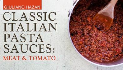 Classic Italian Pasta Sauces: Meat & Tomato course image