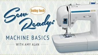 Sew Ready: Machine Basics  course image