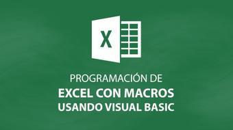 Programación de Excel con macros usando Visual Basic course image