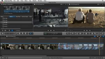 Narrative Scene Editing with Final Cut Pro X v10.0.9 course image