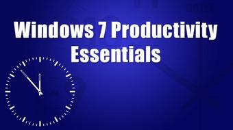 Windows 7 Productivity Essentials course image
