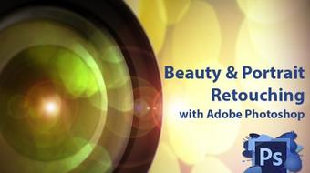 Portrait & Beauty Retouching with Adobe Photoshop course image