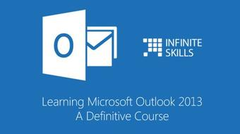 Microsoft Outlook 2013 Training - A Definitive Course course image