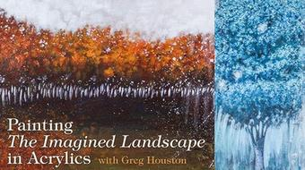 Painting the Imagined Landscape in Acrylics course image