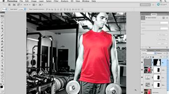 Photoshop CS5: Athletic Retouching Projects course image