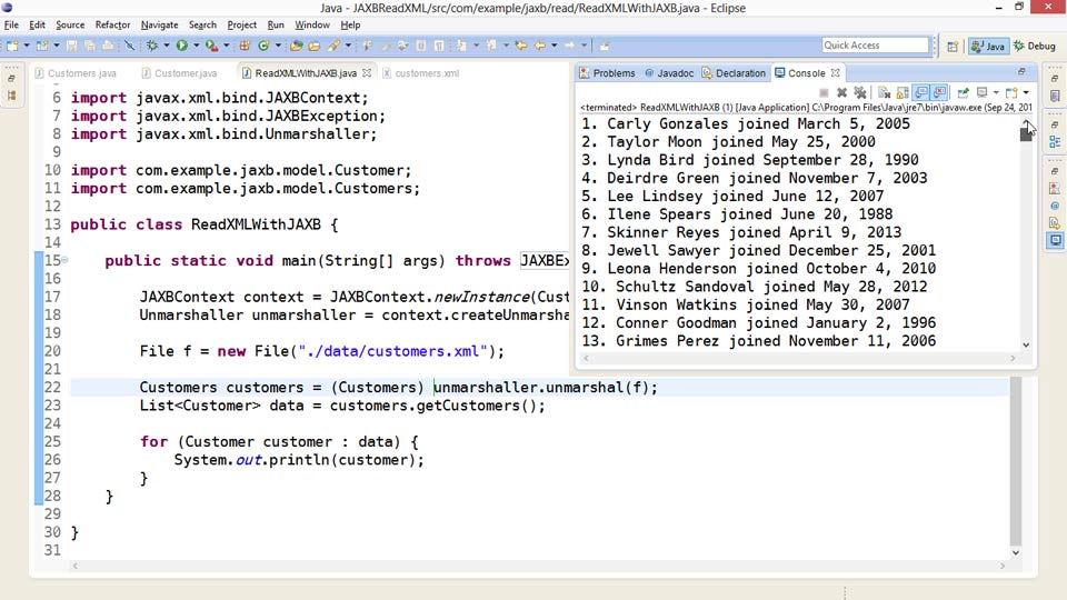 XML Integration with Java course image