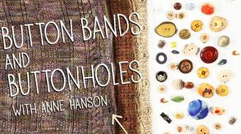 Button Bands & Buttonholes course image