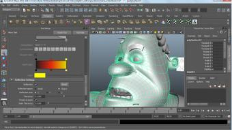 Modeling a Character in Maya course image