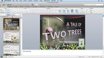 Migrating from PowerPoint 2008 for Mac to PowerPoint 2011 course image