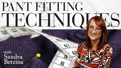 Pant Fitting Techniques course image