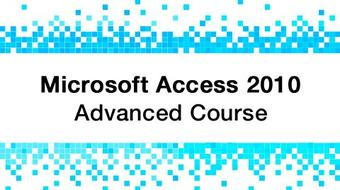 Microsoft Access 2010 Training - Advanced course image
