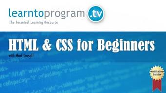 HTML Tutorial: HTML & CSS for Beginners course image