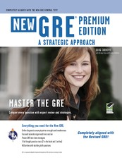 GRE: A Strategic Approach, Premium Edition (Book + Online) course image