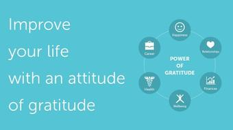 Improve Your Life and Happiness with the Power of Gratitude course image