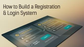 How to Build a Registration & Login System course image