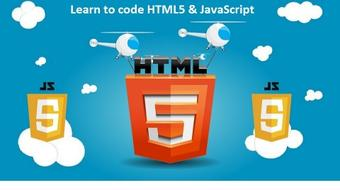 Learn HTML5 & JavaScript course image