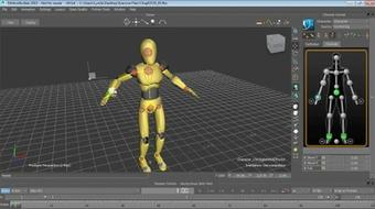Up and Running with MotionBuilder course image