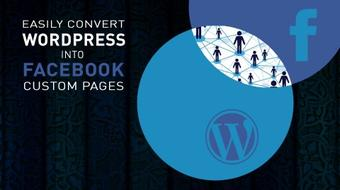 Easily Convert WordPress Sites into Custom Facebook pages course image
