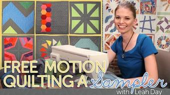 Free Motion Quilting a Sampler course image
