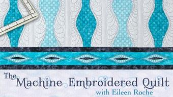 The Machine Embroidered Quilt course image