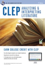 CLEP® Analyzing & Interpreting Literature Book + Online course image