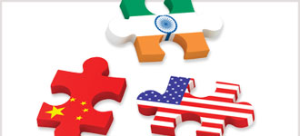 China, India, and the United States: The Future of Economic Supremacy - CD, digital audio course course image
