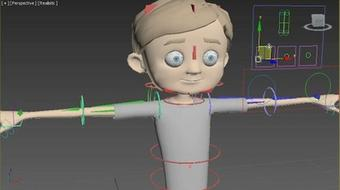 Character Rigging in 3ds Max course image