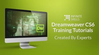 Dreamweaver CS6 Training - Tutorials Created By Experts course image