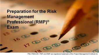 Preparation for PMI Risk Management Professional (RMP)® exam course image