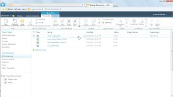 Managing Documents with SharePoint 2010 course image