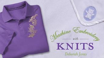 Machine Embroidery With Knits course image