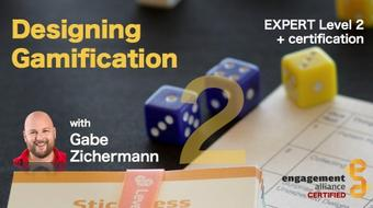Designing Gamification Level2 (Intermediate) + Certification course image