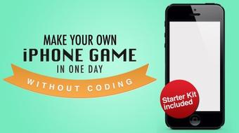 Make Your Own iPhone Game in One Day Without Coding - iOS 7 course image
